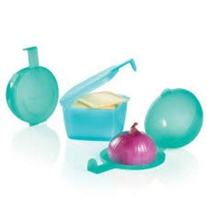 Tupperware Forget Me Not Set NEW